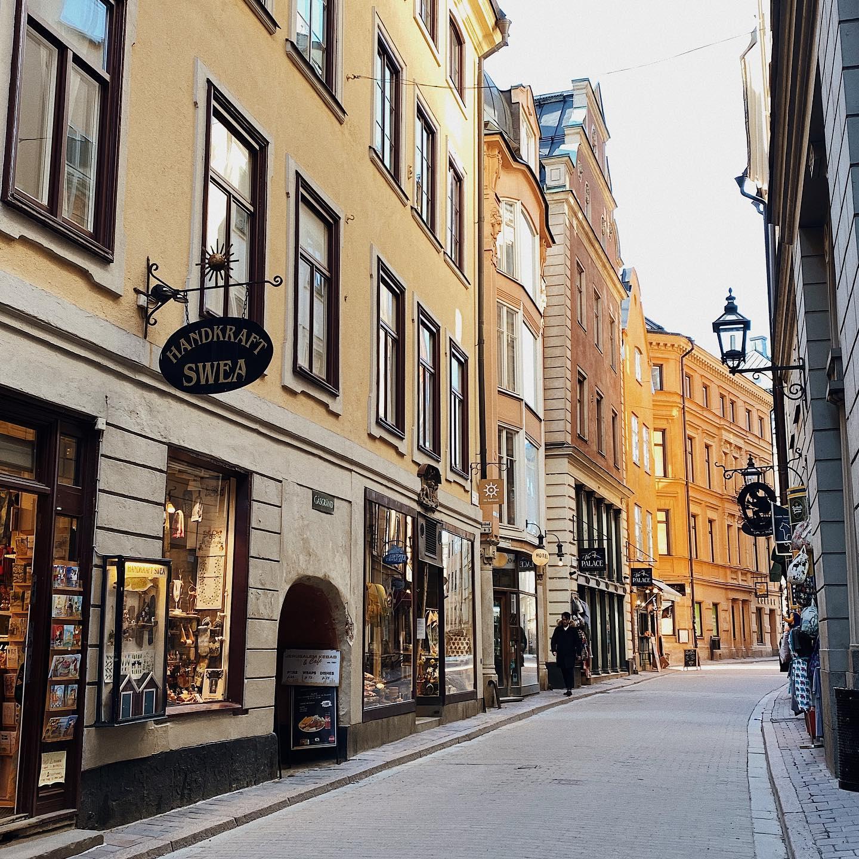 Leeres Stockholm in Bildern 🌆…