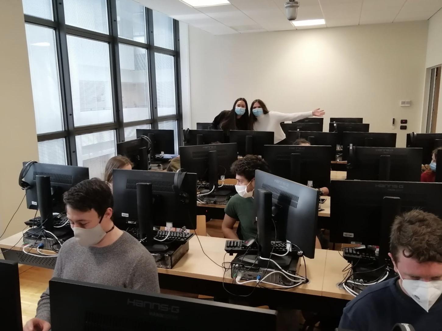 Unterricht im PC-Labor