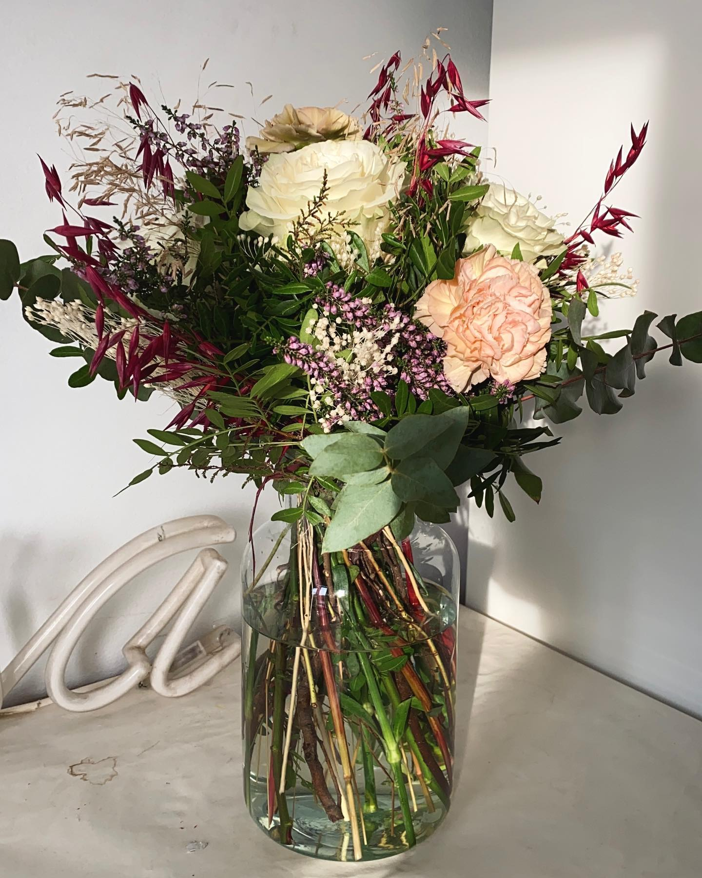 Blumen aus der Heimat 🌹 In einer Fernbeziehung muss man sich manchmal was…