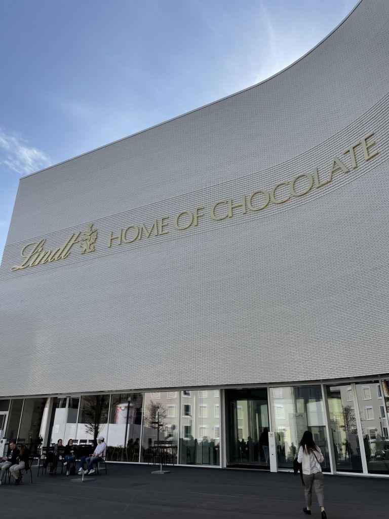 "Willkommen im ""Home of Chocolate"""