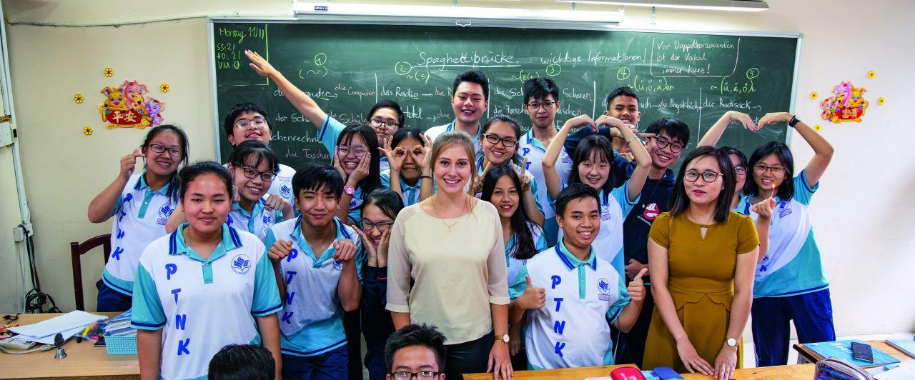 Klassenzimmer Annabelle