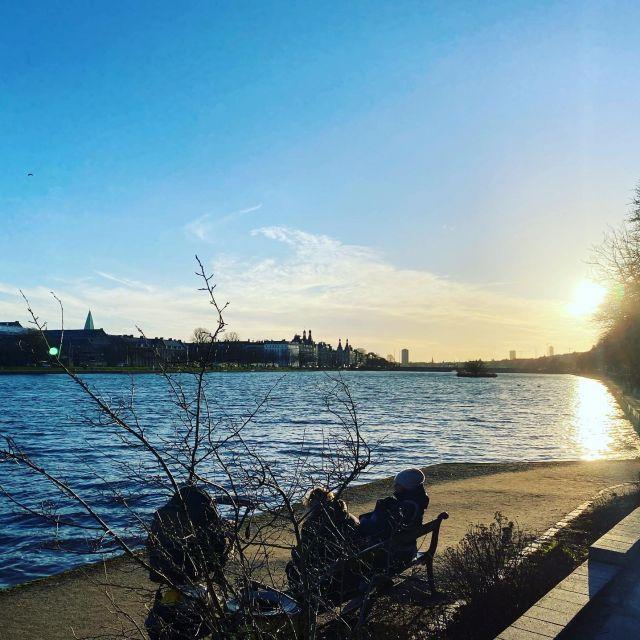 Sonne über den Lakes