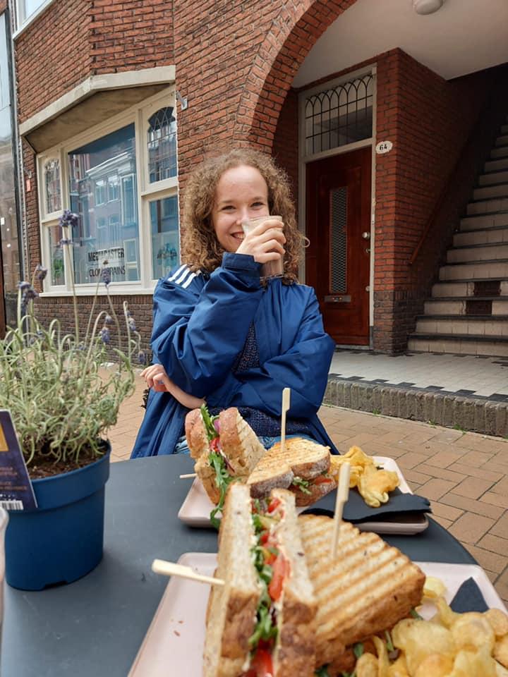 Da die Cafés und Restaurants in den Niederlanden mittlerweile wieder geöffnet…