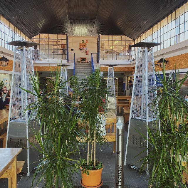 Der Eingangsbereich der Markthalle in Sintra.