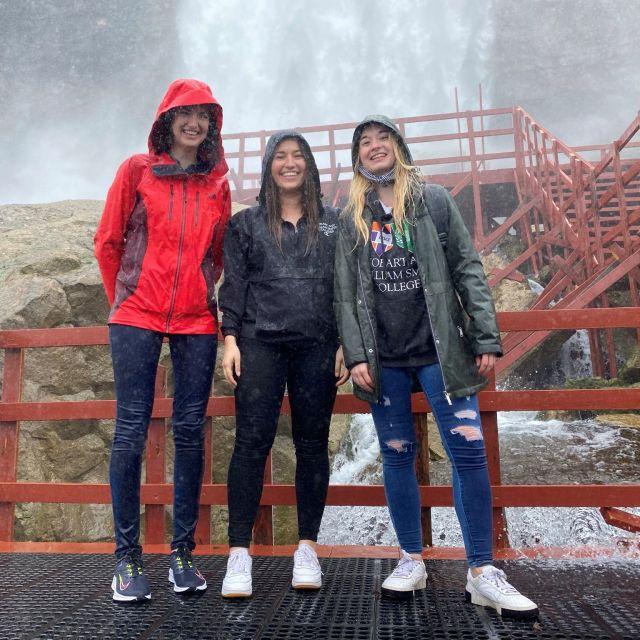vor den Niagarafällen