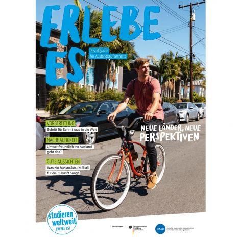 Cover Magazin ERLEBE ES 21/22