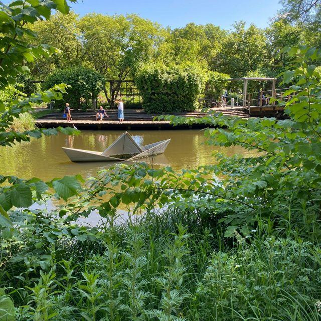 kleiner Teich im Park in Odense