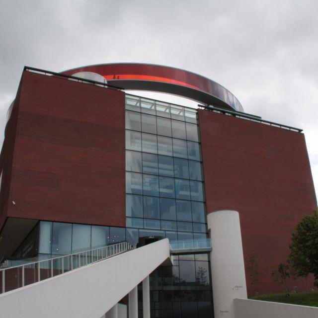 Das ARoS Museum in Aarhus von außen