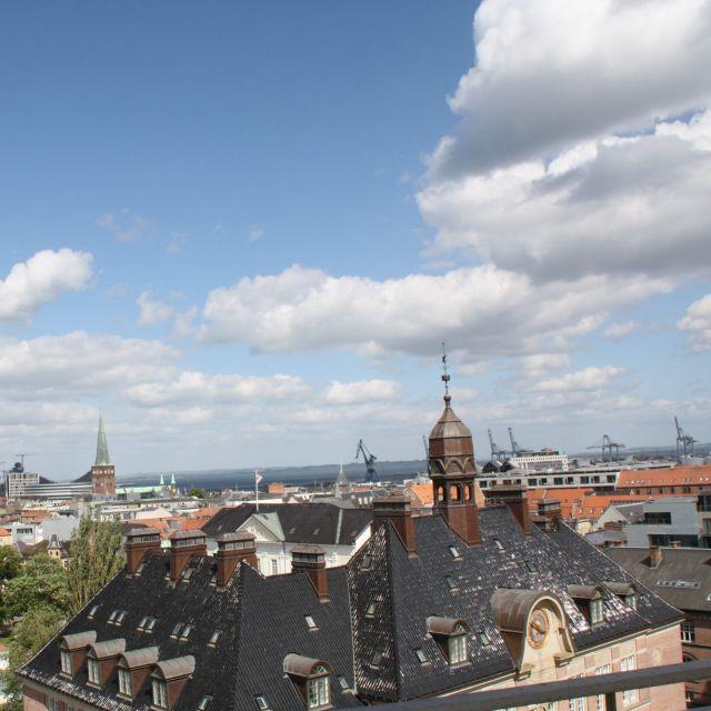 Aarhus von oben