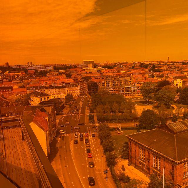 Blick aus der Regenbogenbrücke