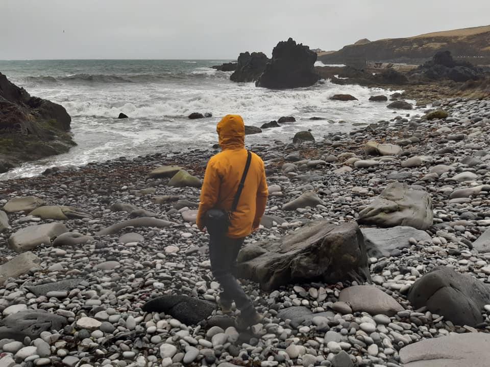 Sommer in Island: 8°C und Regen. Ich genieße aber die Frische, heiße Sommer…