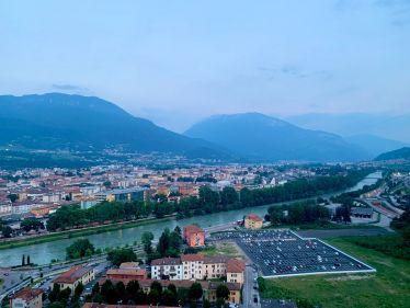 #Trento bei #Sonnenuntergang - ich kann mir mittlerweile nichts schöneres mehr…