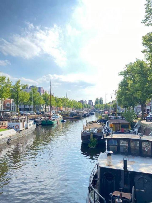 Hier sieht man die Kanäle Groningens.