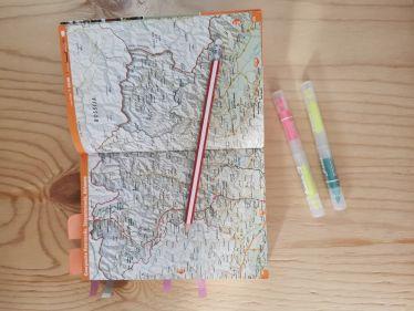 Landkarte Georgien, Stifte