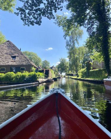 """Ein Tag auf """"hoher See""""! #erlebees #giethoorn #niederlande"""