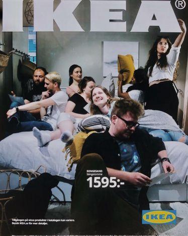 Die Erasmus-Gang war im IKEA Museum. …