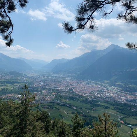 Aussicht auf Trento