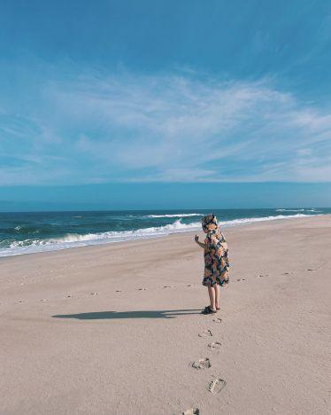 Aufs Meer blicken und sich die Haare zerzausen lassen 🌊 …