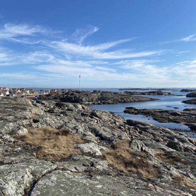 Die steinigen Schäreninseln Göteborgs