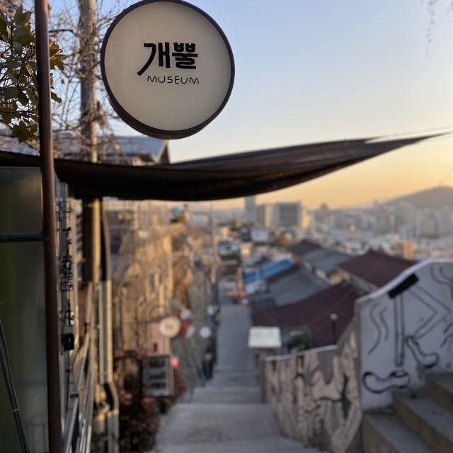 Ausblick auf Seoul bei Sonnenuntergang