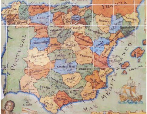 Spanien Karte