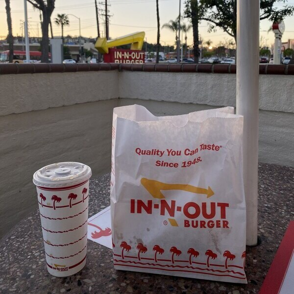 In-N-Out Tüte