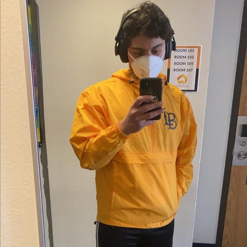 Ich mit Maske.