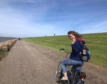 Back when @lorna_urwin fell in love with Dutch islands #erlebees