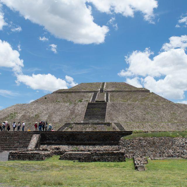 Sonnenpyramide in Teotihuacan, Mexiko