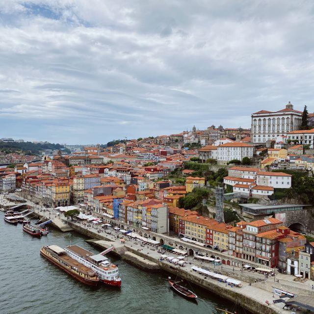Ausblick auf die Stadt Porto