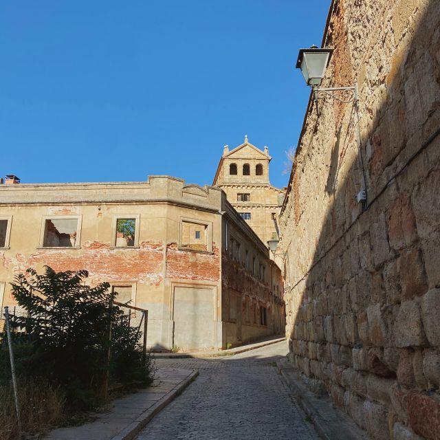 Eine Gasse in Salamanca.