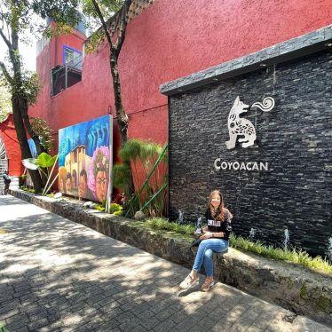 Coyoacán, ein Stadtviertel in México City, das ich gerne nochmal besuchen…