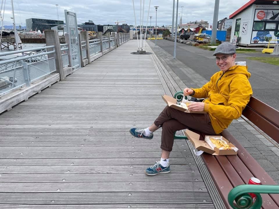 Must to do in Reykjavik: Fish and Chips im Hafen essen!…