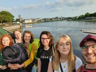 Reisegruppe in Limerick