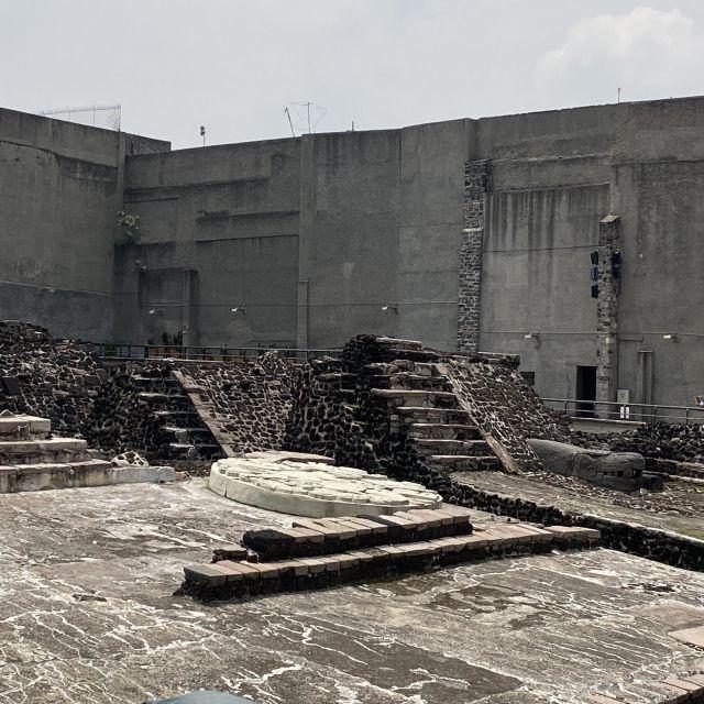 Ausgrabungen des Templo Mayor, Mexiko-Stadt