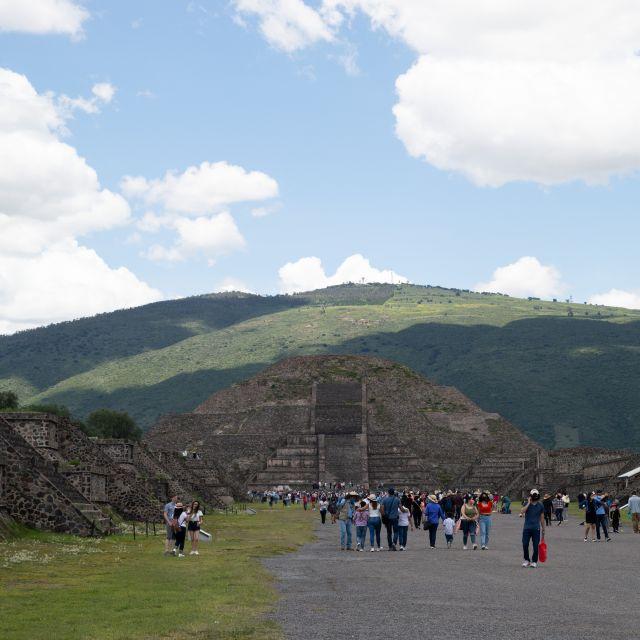 Mondpyramide Teotihuacán