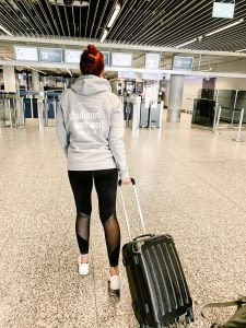 Abflug Frankfurt Airport