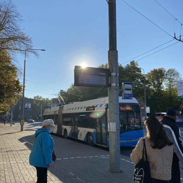 Bus in Tallinn