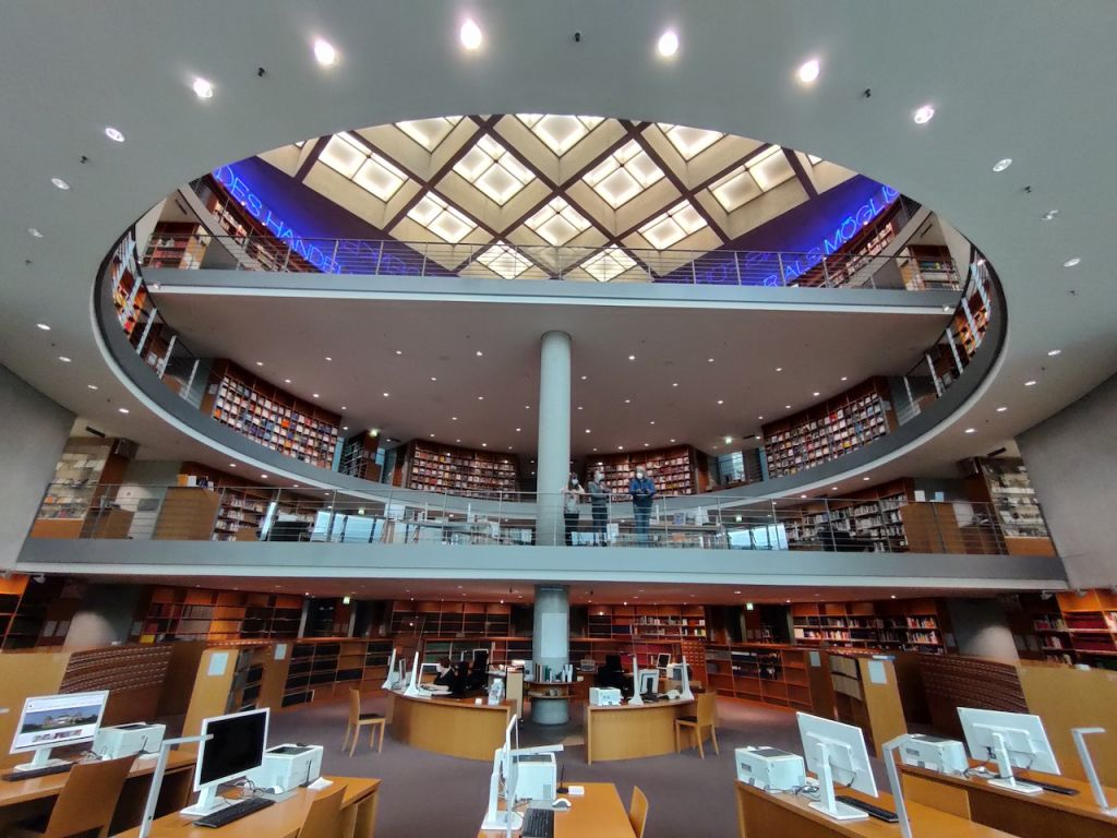 Bibliothek in Rotunde