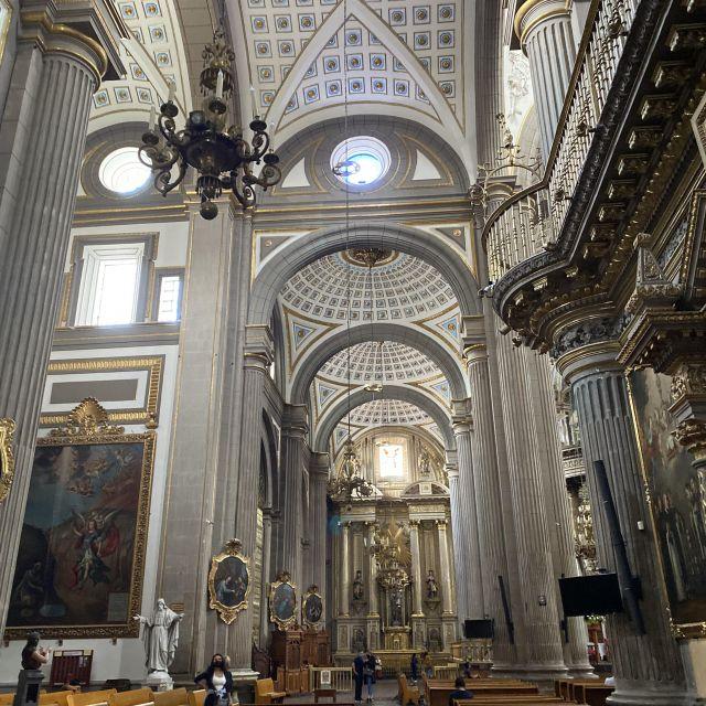 Innenraum der Kathedrale in Puebla