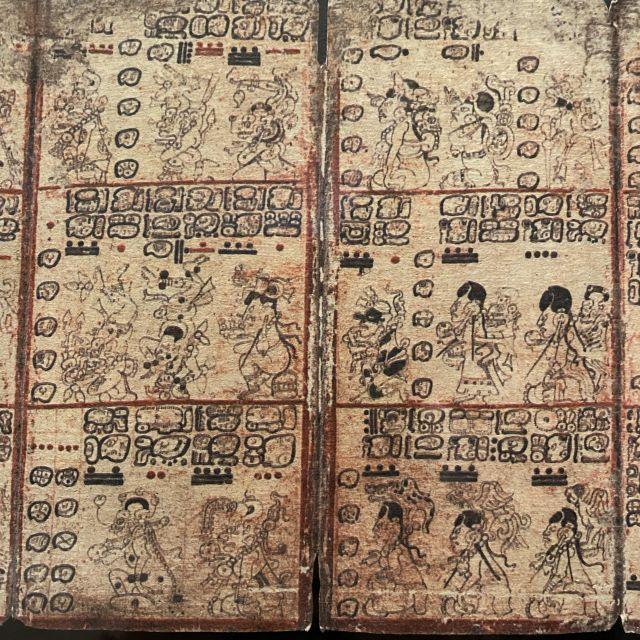 """Ein weiterer """"Códice prehispánico""""."""
