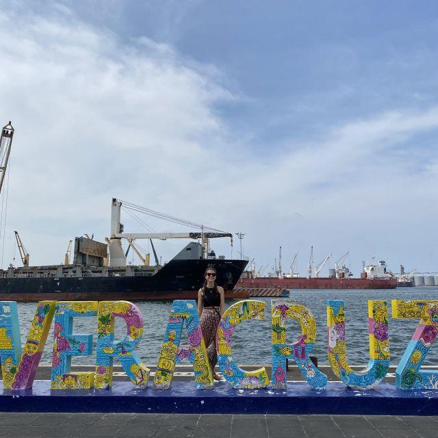 Am Hafen von Veracruz.
