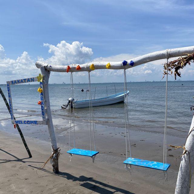 Schaukeln am Strand von Veracruz.
