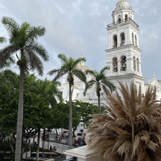 Blick auf den Marktplatz in Veracruz.
