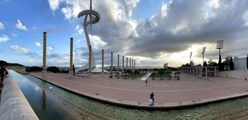 Olympische Stadt Bafcleona