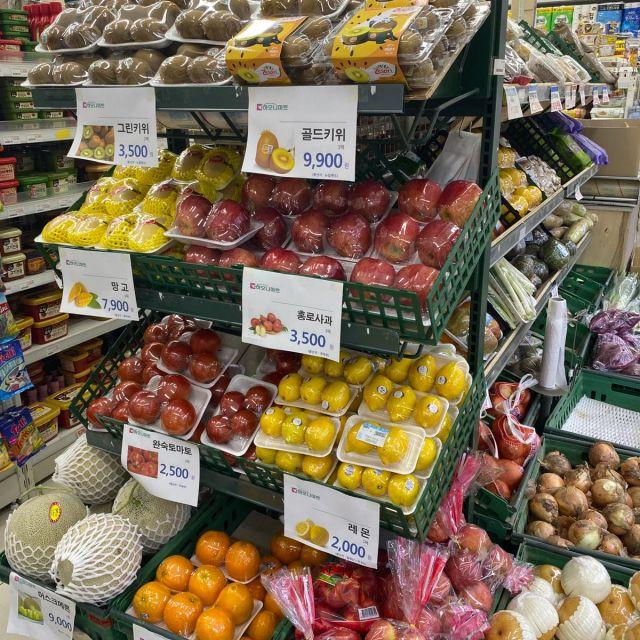 Gemüse und Obst ist leider immer sehr unnötig in viel Plastik verpackt