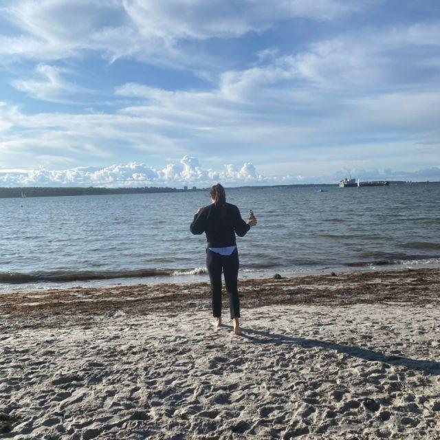 Strand und Meer in Kiel