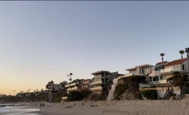 Treasure Island Beach in Kalifornien