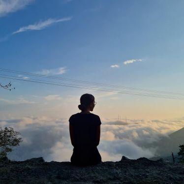 Auf Wolke 7. ⛅️…