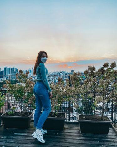 Sunsets in Seoul, Korea✨…